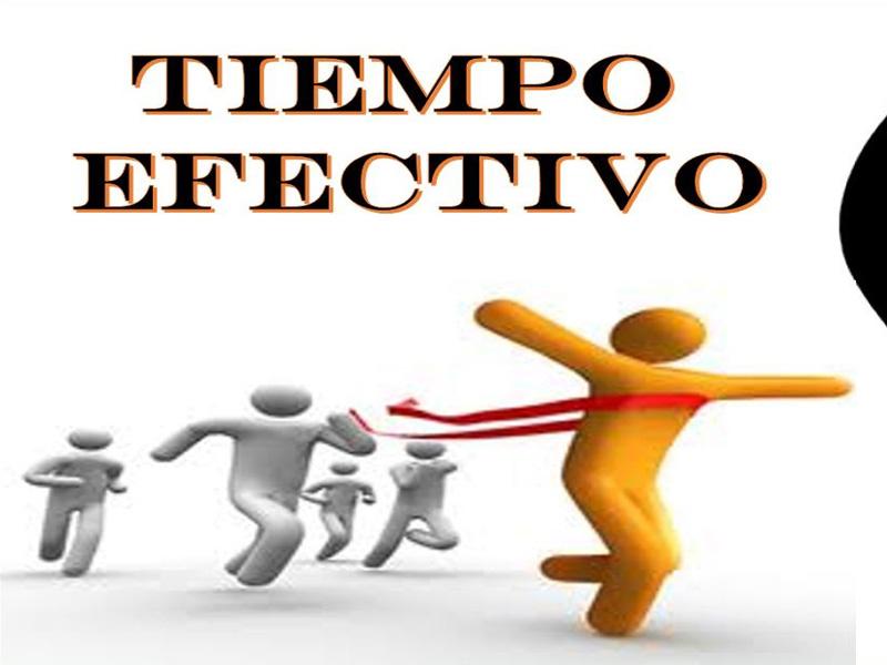 tiempo efectivo Martinezochoa.com